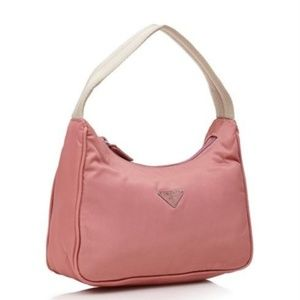 NWT Prada Vela MV515 Hobo Handbag rare Rosa Sale